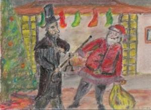 scrooge vs santa